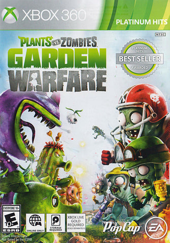 sale plants vs zombies garden warfare online play required xbox360 xbox360 game - Plants Vs Zombies Garden Warfare Xbox 360