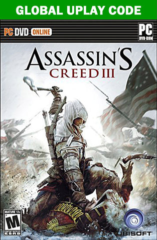 Assassin s Creed (3) III (Global UPLAY Code) (PC) PC Game