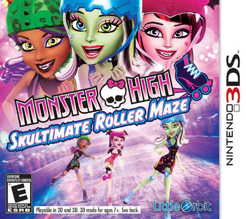 Monster High - Skultimate Roller Maze (3DS) 3DS Game