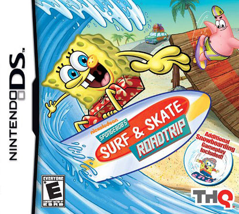 Spongebob - Surf and Skate Roadtrip (DS) DS Game