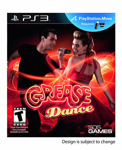 Grease Dance (Playstation Move) (Bilingual Cover) (PLAYSTATION3) PLAYSTATION3 Game