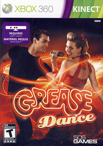 Grease Dance (Kinect) (Bilingual Cover) (XBOX360) XBOX360 Game