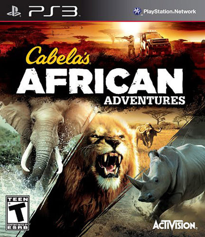 Cabela's African Adventures (PLAYSTATION3) PLAYSTATION3 Game