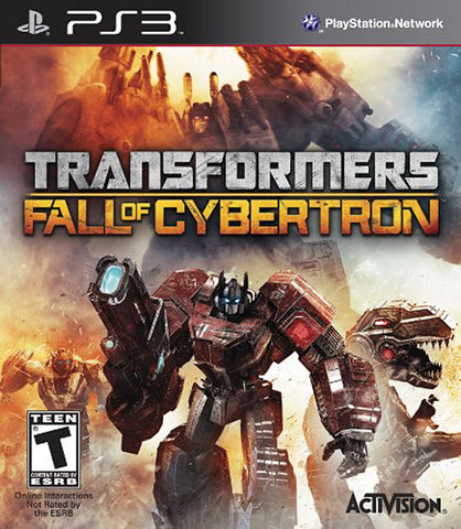 Transformers - Fall of Cybertron (PLAYSTATION3) PLAYSTATION3 Game