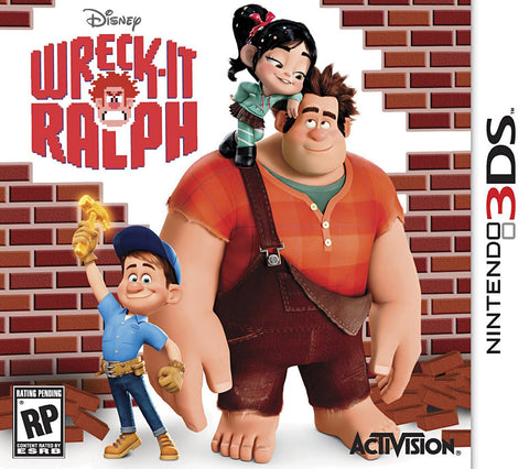 Wreck-It Ralph (3DS) 3DS Game