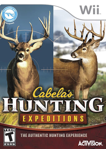 Cabela s Hunting Expeditions (Game Only) (Bilingual Cover) (NINTENDO WII) NINTENDO WII Game