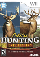 Cabela s Hunting Expeditions (Game Only) (Bilingual Cover) (NINTENDO WII)