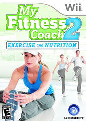 My Fitness Coach 2 - Exercise and Nutrition (NINTENDO WII)