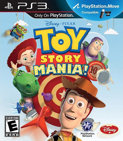 Toy Story Mania! (PLAYSTATION3) PLAYSTATION3 Game