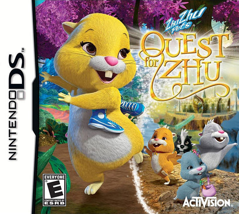Zhu Zhu Pets - Quest For Zhu (DS) DS Game