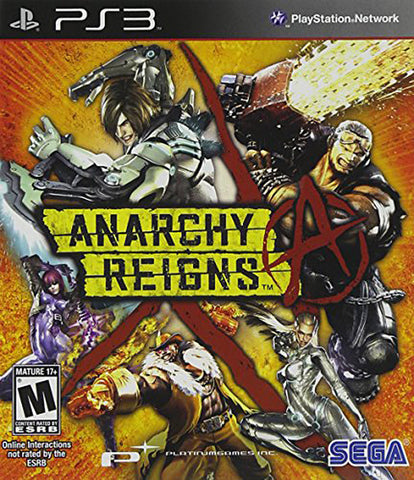 Anarchy Reigns (PLAYSTATION3) PLAYSTATION3 Game