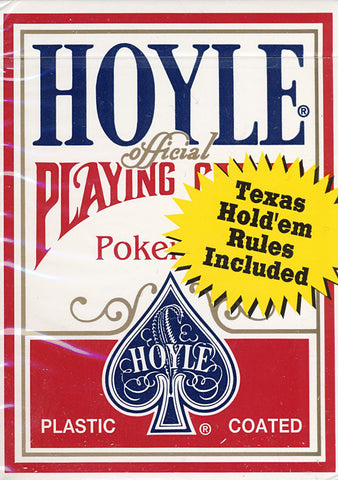 Hoyle Poker Size Standard Index Playing Cards - Red (OTHER) OTHER Game