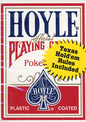 Hoyle Poker Size Standard Index Playing Cards - Red (OTHER)