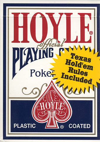 Hoyle Poker Size Standard Index Playing Cards - Blue (OTHER) OTHER Game
