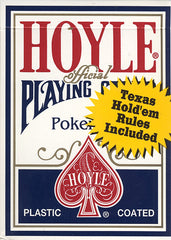 Hoyle Poker Size Standard Index Playing Cards - Blue (OTHER)