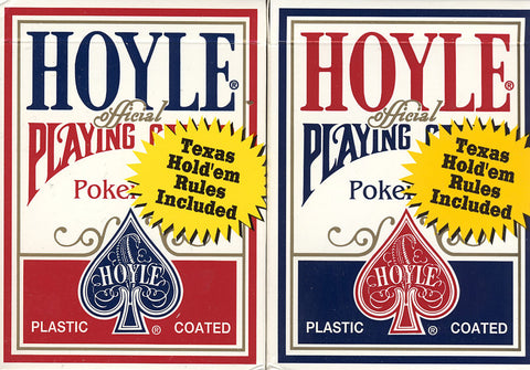 Hoyle Poker Size Standard Index Playing Cards - Red & Blue (OTHER) OTHER Game