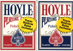 Hoyle Poker Size Standard Index Playing Cards - Red & Blue (OTHER)