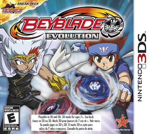 Beyblade - Evolution (3DS) 3DS Game