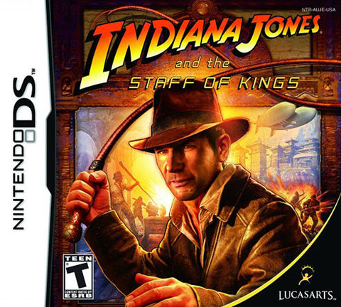 Indiana Jones and the Staff Of Kings (DS) DS Game