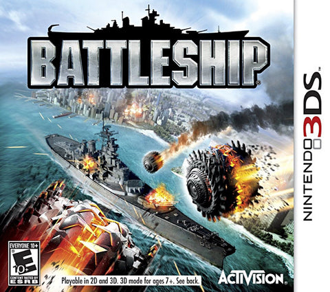 Battleship (Bilingual Cover) (3DS) 3DS Game