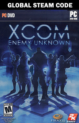 XCOM - Enemy Unknown (Global STEAM Code) (PC) PC Game