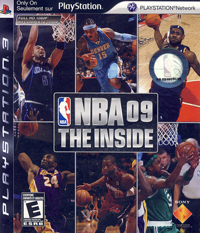 NBA 09 - The Inside (Bilingual Cover) (PLAYSTATION3) PLAYSTATION3 Game