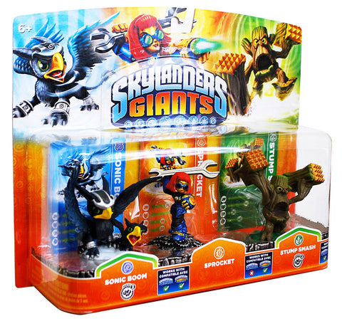 Skylanders Giants Triple Pack (Sonic Boom / Sprocket / Stump Smash) (Bilingual Cover) (TOYS) TOYS Game