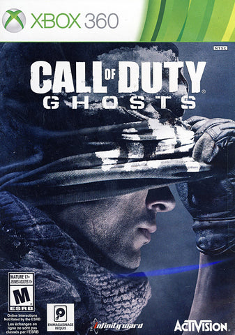 Call of Duty - Ghosts (French Version Only) (XBOX360) XBOX360 Game