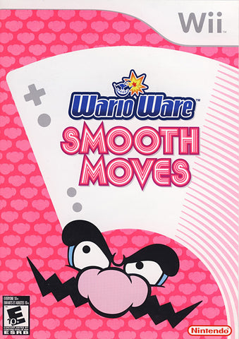 WarioWare - Smooth Moves (NINTENDO WII) NINTENDO WII Game