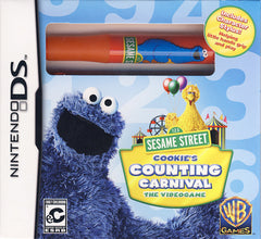 Sesame Street - Cookie s Counting Carnival (With Stylus) (DS)