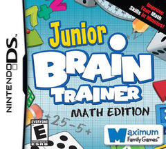 Junior Brain Trainer - Math Edition (DS)