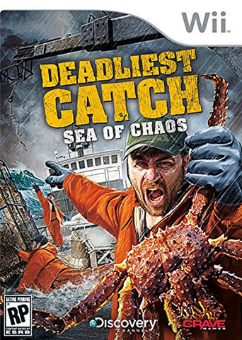Deadliest Catch - Sea of Chaos (NINTENDO WII) NINTENDO WII Game