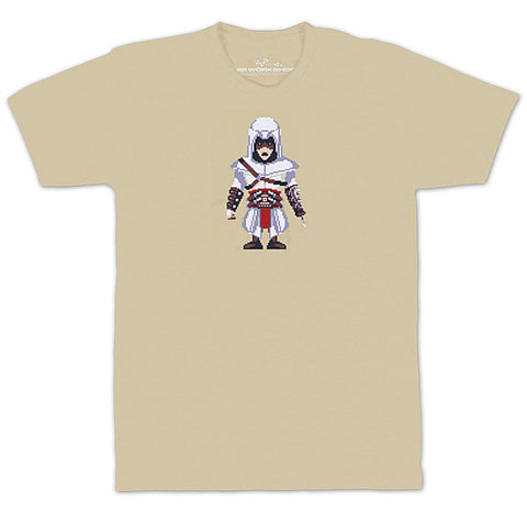 Ubisoft Unisex - Assassin s Creed - Army Of Trolls Altair Ibn-La Ahad T-Shirt - Small Sand (APPAREL) APPAREL Game