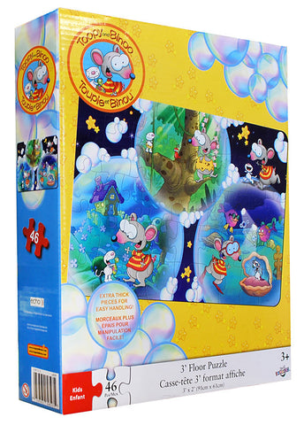 Toopy and Binoo Floor Puzzle (46 Pieces) (TOYS) TOYS Game