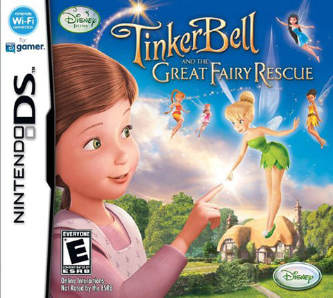 Tinkerbell and the Great Fairy Rescue (DS) DS Game