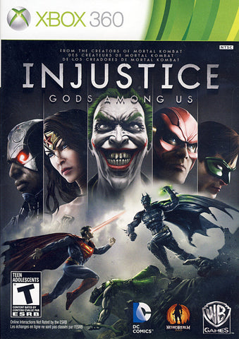Injustice - Gods Among Us (Trilingual Cover) (XBOX360) XBOX360 Game