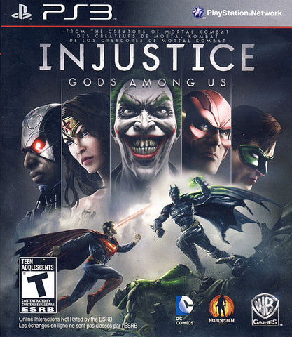 Injustice - Gods Among Us (Trilingual Cover) (PLAYSTATION3) PLAYSTATION3 Game