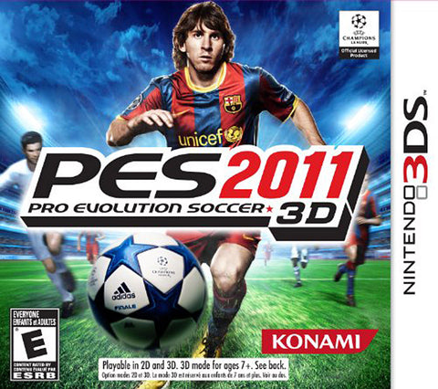 Pro Evolution Soccer 2011 (Trilingual Cover) (3DS) 3DS Game