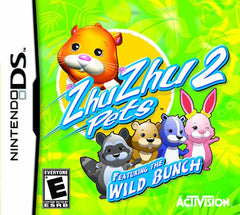 Zhu Zhu Pets 2 - Wild Bunch (DS)