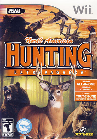 North American Hunting Extravaganza (Bilingual Cover) (NINTENDO WII) NINTENDO WII Game