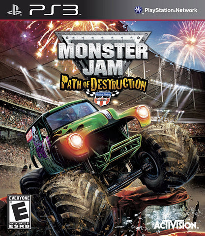 Monster Jam - Path Of Destruction (Game Only) (PLAYSTATION3) PLAYSTATION3 Game