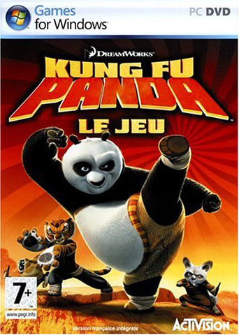 Kung Fu Panda (French Version Only) (PC) PC Game