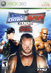 WWE Smackdown vs. Raw 2008 (XBOX360)