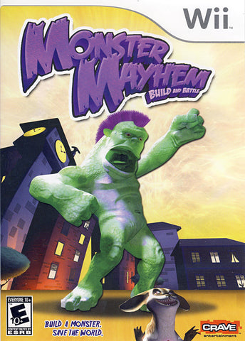 Monster Mayhem - Build and Battle (NINTENDO WII) NINTENDO WII Game