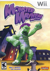 Monster Mayhem - Build and Battle (NINTENDO WII)