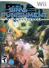 Sin and Punishment - Star Successor (NINTENDO WII)