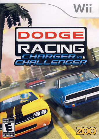 Dodge Racing Charger vs. Challenger (Bilingual Cover) (NINTENDO WII) NINTENDO WII Game