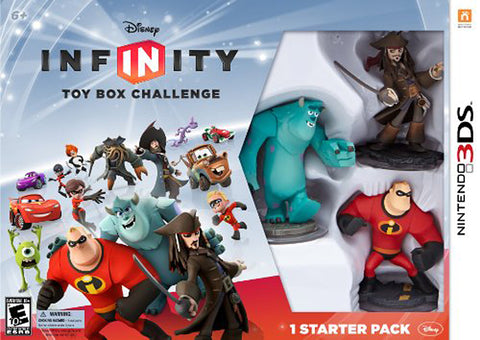 Disney Infinity Toy Box Challenge - Starter Pack (3DS) 3DS Game
