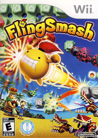 FlingSmash (Game Only) (Trilingual Cover) (NINTENDO WII) NINTENDO WII Game