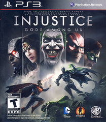 Injustice - Gods Among Us (Bonus DLC) (Trilingual Cover) (PLAYSTATION3)